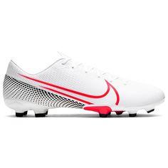 Nike Vapor 13 Academy Firm Ground Мужские Футбольные Бутсы Белые/Красные/Черные от SportsTerritory