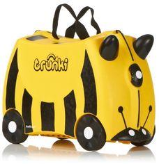 Детский чемодан для путешествий Trunki Bernard Bumble Bee (0044-GB01-UKV) от Stylus
