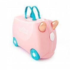 Детский чемодан для путешествий Trunki Flossi Flamingo (0353-GB01) от Stylus