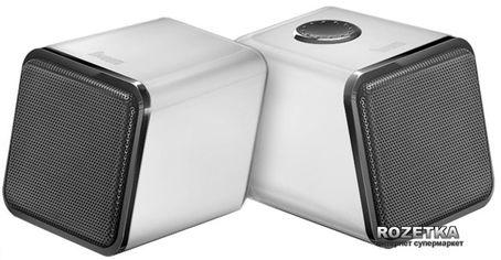 Акция на Акустическая система Divoom Iris-02 USB White (I02USBWHT) от Rozetka