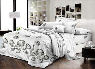 Акция на Комплект постельного белья MirSon Бязь Premium 17-0128 Diamand 110х140 см (2200001611849) от Rozetka