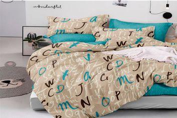 Акция на Комплект постельного белья MirSon Бязь 17-0104 Severo 2х143х210 см (2200001612112) от Rozetka
