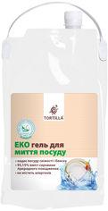 Акция на Эко гель для мытья посуды TORTILLA 4.7 л (4820178062787) от Rozetka