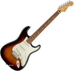 Электрогитара Fender Player Stratocaster PF (227237) 3-Tone Sunburst от Rozetka