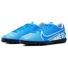 Nike Mercurial Vapor 13 Club TF Artificial-Turf Soccer Shoe BlueHero/White от SportsTerritory