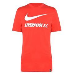 Nike Liverpool Swoosh Мужская Футболка Красная от SportsTerritory