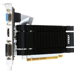 Видеокарта MSI GeForce GT 730 2GB DDR3 Low Profile Silent (N730K-2GD3H/LP) от MOYO