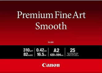 Фотобумага Canon A2 Premium Fine Art Paper Smooth, 25л (1711C006) от MOYO