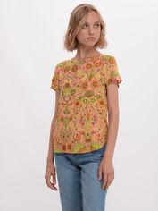 Блузка H&M 3895374-ABCD 34 Розовая с разноцветным (DD2000003144136) от Rozetka