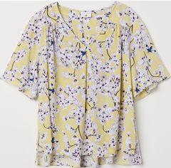 Блузка H&M XAZ139946NOCQ 36 Желтая (DD2000002895862) от Rozetka