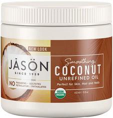 Смягчающее кокосовое масло Jason нерафинированное 100% органическое 443 мл (07852202125) от Rozetka
