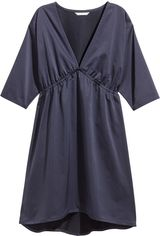 Платье H&M XAZ127389UJLI 36 Темно-синее (DD2000002516958) от Rozetka