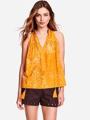 Блузка H&M XAZ019859QNJO 36 Желтая (DD2000002730651) от Rozetka