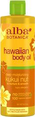 Глубоко увлажняющее массажное масло Alba Botanica Гавайское - Орех кукуи 251 мл (724742008345) от Rozetka