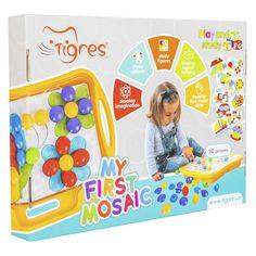 Развивающая игрушка WADER Моя первая мозаика (39370) от Будинок іграшок