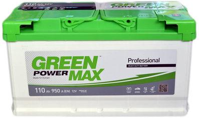 Автомобильный аккумулятор Green Power MAX 110 Ah (-/+) Euro (950EN) (22370) от Rozetka