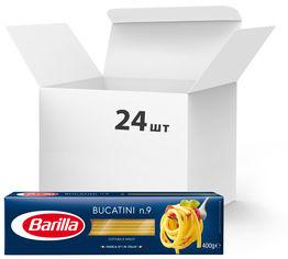 Упаковка макарон Barilla Bucatini №9 Букатини 400 г х 24 шт (8076809022613) от Rozetka