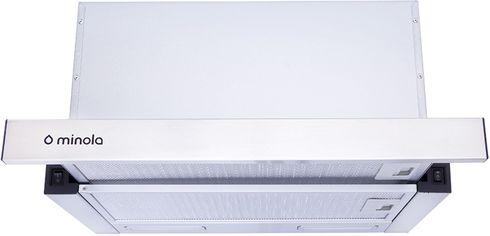 Акция на Вытяжка MINOLA HTL 6915 I 1300 LED от Rozetka