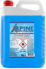 Акция на Зимний стеклоомыватель Alpine Frostschutz Scheibenklar концентрат 5 л (4003774026050) от Rozetka