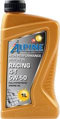 Моторное масло Alpine Racing 4T 5W-50 1 л (2425-1) от Rozetka