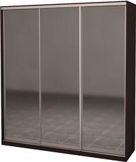 Шкаф-купе трехдверный Roko 239.2x242x60 см Зеркало Дуб венге (20200024334) от Rozetka