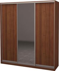 Шкаф-купе трехдверный Roko 179.2x242x60 см Зеркало Орех лесной (20200024521) от Rozetka