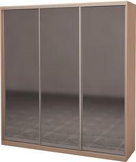 Шкаф-купе трехдверный Roko 224.2x242x60 см Зеркало Дуб молочный (20200024372) от Rozetka