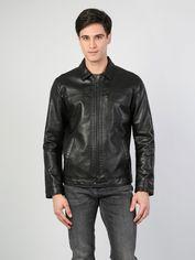 Акция на Куртка из искусственной кожи Colin's CL1045424BLK S (8681597939670) от Rozetka