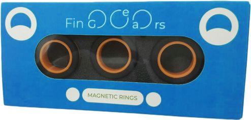 Магнитные кольца FinGears Magnetic Rings Sets Size L Black-Orange (FG380LBLKOR) от Rozetka