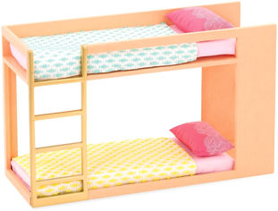Акция на Набор для кукол Lori Двухэтажная кровать (LO37044Z) от Rozetka