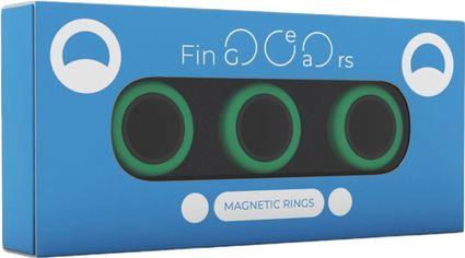Магнитные кольца FinGears Magnetic Rings Sets Size L Green-Black (FG380LGRBLK) от Rozetka