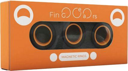 Магнитные кольца FinGears Magnetic Rings Sets Size M Black-Orange (FG380MBLKOR) от Rozetka