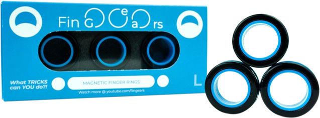 Магнитные кольца FinGears Magnetic Rings Sets Size L Black-Blue (FG380LBLKBLU) от Rozetka