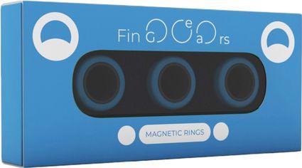 Магнитные кольца FinGears Magnetic Rings Sets Size L Blue-Black (FG380LBLUBLK) от Rozetka