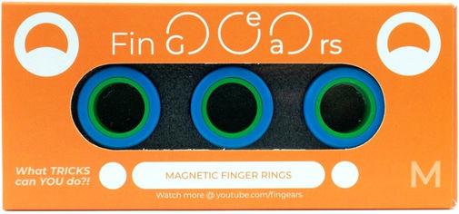Магнитные кольца FinGears Magnetic Rings Sets Size M Blue-Green (FG380MBLUGR) от Rozetka