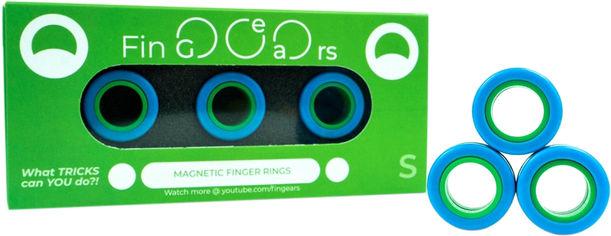 Магнитные кольца FinGears Magnetic Rings Sets Size S Blue-Green (FG380SBLUGR) от Rozetka