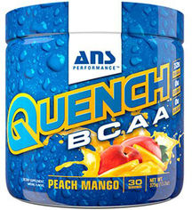 Аминокислота ANS Performance QUENCH BCAA 375 г Персик-манго (668821) от Rozetka