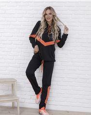 Спортивные костюмы ISSA PLUS 12088  XL черный от Issaplus
