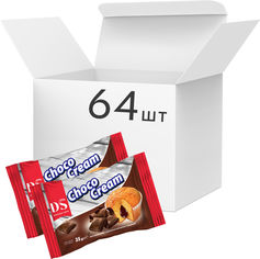 Акция на Упаковка кексов Домашнє Свято Магдаленас с шоколадной начинкой 35 г х 64 шт (4820207122260) от Rozetka