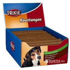 Лакомство для собак Trixie 31745 Палочка жевательная с курицей 50 шт 65 г (4011905317458) от Rozetka