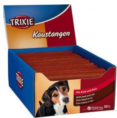 Лакомство для собак Trixie 31746 Палочка жевательная с говядиной 50 шт 65 г (4011905317465) от Rozetka