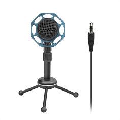 Акция на Микрофон Promate Tweeter-8 Mini-jack 3.5 мм Blue (tweeter-8.blue) от Rozetka