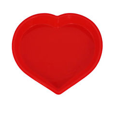 Форма для выпечки Сердце силиконовая Kamille 7702 от Podushka