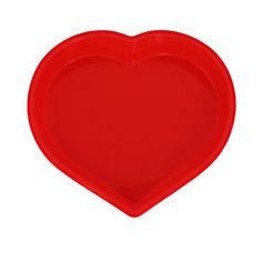 Акция на Форма для выпечки Сердце силиконовая Kamille 7702 от Podushka