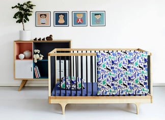 Акция на Комплект детского постельного белья Cosas Дино синий 11 Детский комплект от Podushka