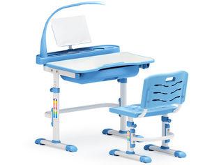 Акция на Комплект мебели Evo Kids Evo-17 BL с лампой от Podushka