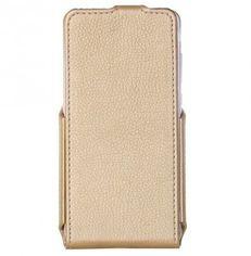 Акция на Чехол RP для Huawei Y6 II Flip Case Gold от MOYO