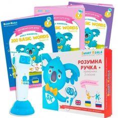 Стартовый набор Smart Koala + Книга интерактивная Smart Koala English (1, 2, 3 сезон) SKS0123BW от Stylus