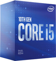 Процессор Intel Core i5-10400F 2.9GHz/12MB (BX8070110400F) s1200 BOX от Rozetka