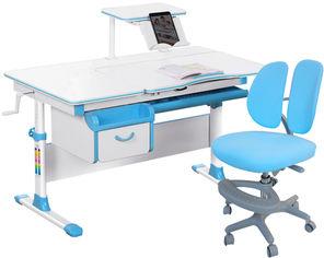 Акция на Комплект Evo-Kids Evo-40 BL Blue + кресло Y-408 KBL от Rozetka